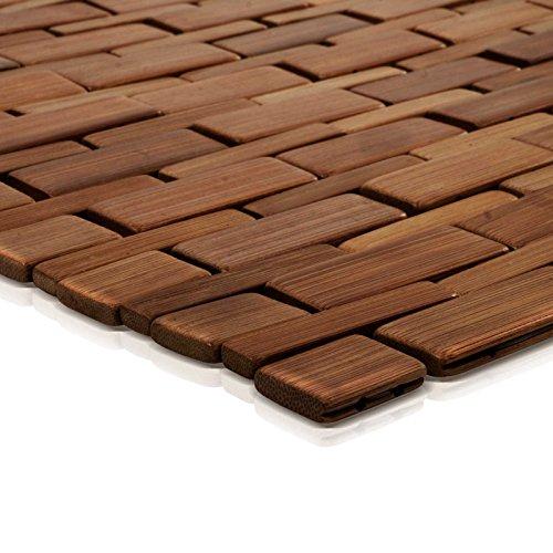 Tapis en bambou Mia Casa pura® - Tapis de bain ou tapis de sauna ...