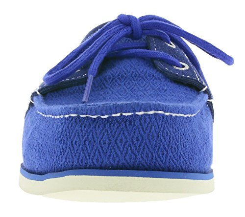 Timberland Classic Fabric Hombres Zapatos en barco azul A16O4