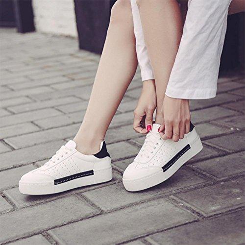 Colegio Casuales Cn37 Uk4 7 Zapatos Transpirables Ms 5 5 De Us6 5 Viento Fondo Mollete Grueso Eu37 rxfarw