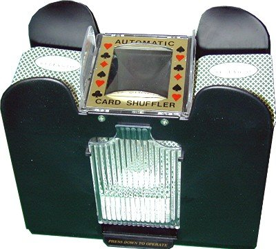 4 Deck Automatic Card Shuffler for Blackjack by Pachi Paradice