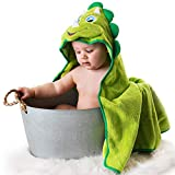 Little Tinkers World Hooded Baby Towel Dinosaur