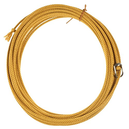 King Saddlery Inc Quad Poly Gold 4 Strand Ranch Rope ()
