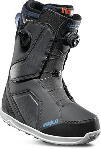 Ride Mens Snowboard Boots - thirtytwo Binary Boa '18 Snowboard Boots, Size 8, Grey