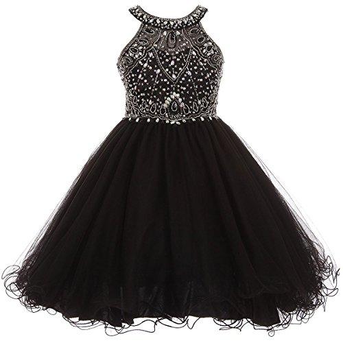 halter tulle dress - 8