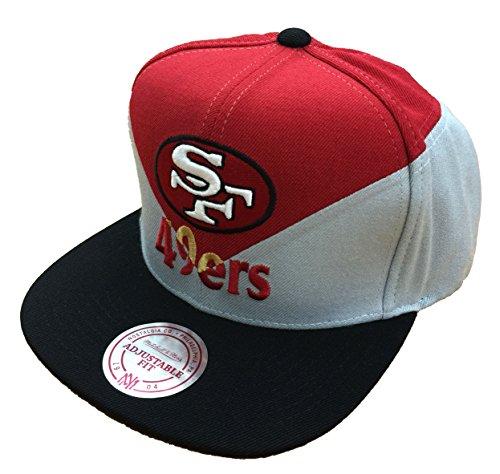 Mitchell   Ness San Francisco 49ers Amplify Diamond Snapback 60cbfd8d89a4