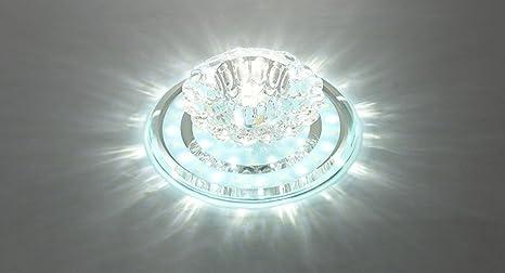 Plafoniera Cristallo Led : Momo faretto a soffitto led in cristallo mini plafoniera
