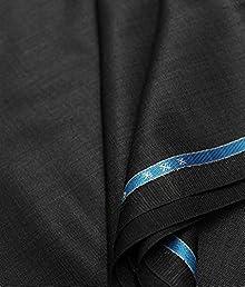 72ad61c8c91 Raymond Men s Poly Cotton Trouser Fabric(rm qb Black 1.25 meters)