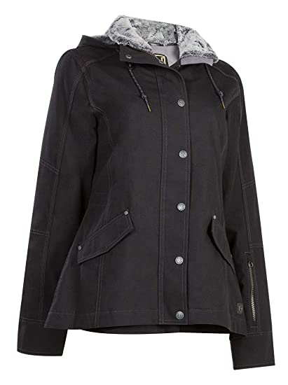e324f696642 Amazon.com: Noble Outfitters Girl Tough Canvas Jacket: Sports & Outdoors
