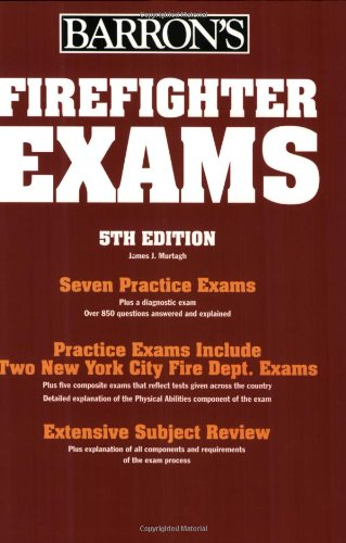 Firefighter Exams (BARRON'S FIREFIGHTER EXAMS)