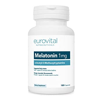 Image Unavailable. Image not available for. Color: EuroVital Melatonin 1mg 180 Capsules