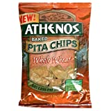 Athenos Pita Chips, Whole Wheat, 9-Ounces (Pack of 12)