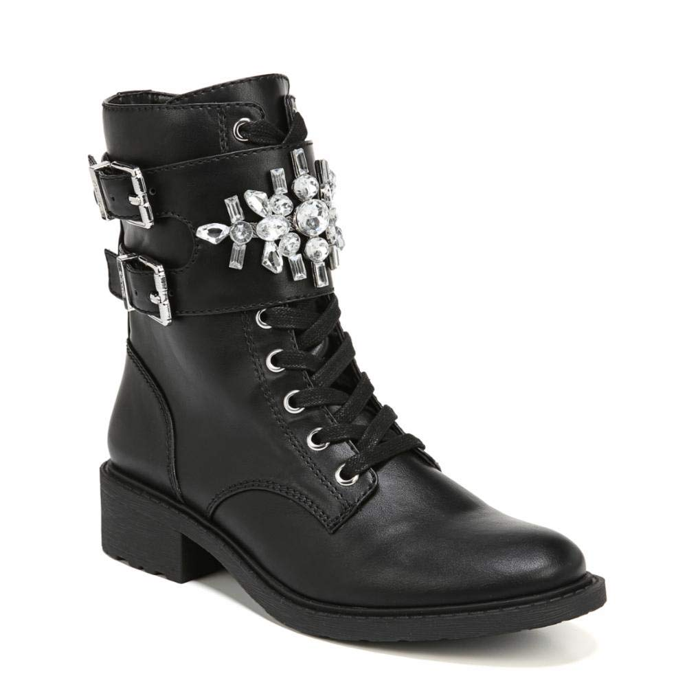 93d967acb Circus by Sam Edelman Women s Dakota Black (Jeweled Strap) Waxy 11 M US   Amazon.ca  Shoes   Handbags