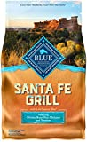 Blue Life Protection Dog Food Blue Buffalo Blue Santa Fe Grill Natural Adult Dry Dog Food With Usa Farm-Raised Chicken (1 Count), 4 Lb Review