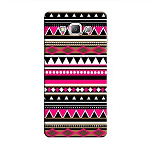 Cover It Up - P&B Triangles Galaxy A8Hard Case
