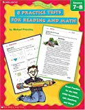 8 Practice Tests for Reading and Math, Michael Priestley, 0439338220