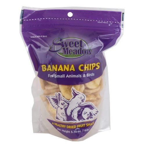 Sweet Meadow 688408 Banana Chips Treat For Small Animals, 5.75-Ounce