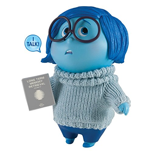 Disney Pixar Inside Out Large Figure, Sadness By Tomy