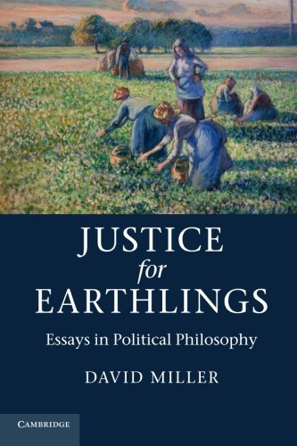 Justice for Earthlings: Essays in Political Philosophy