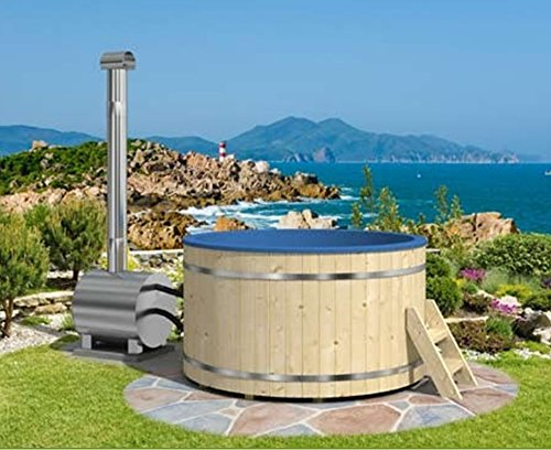 Wood fired hot tub model #200 EP
