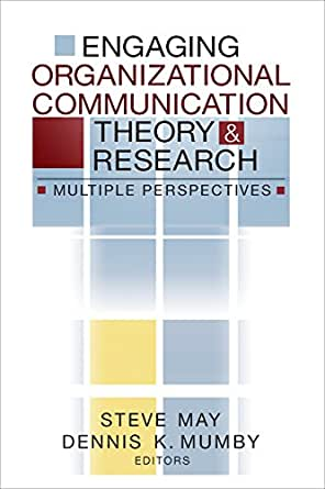 privacy organizational communication theory Summary of the chapter modern theories of organizational communication.
