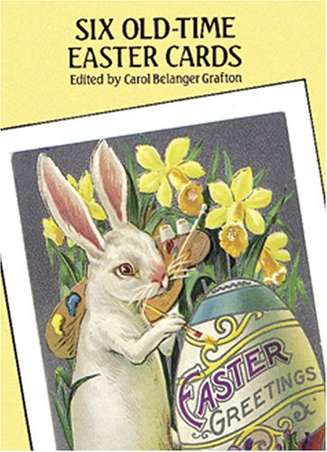 Easter Postcard (Six Old-Time Easter Postcards)