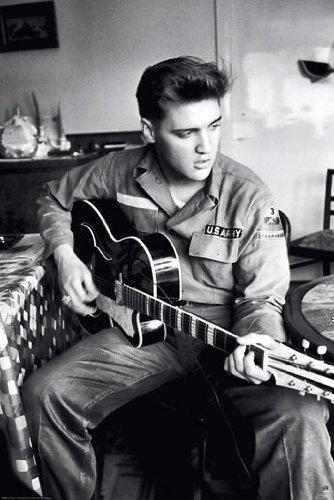 - Elvis Presley Guitar - Army Uniform 24