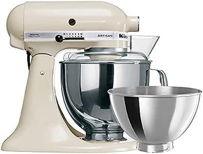 New KitchenAid KSM160 Stand Mixer Almond Cream Mixer