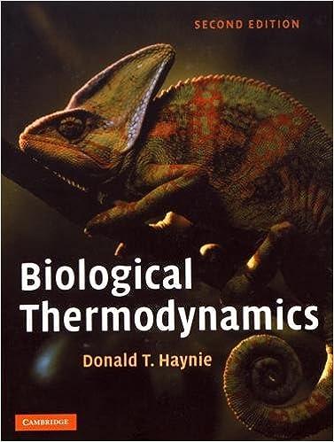 Biological thermodynamics 9780521711340 medicine health biological thermodynamics 2nd edition fandeluxe Choice Image