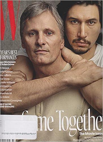 w magazine february 2017 the movie issue viggo mortensen and adam