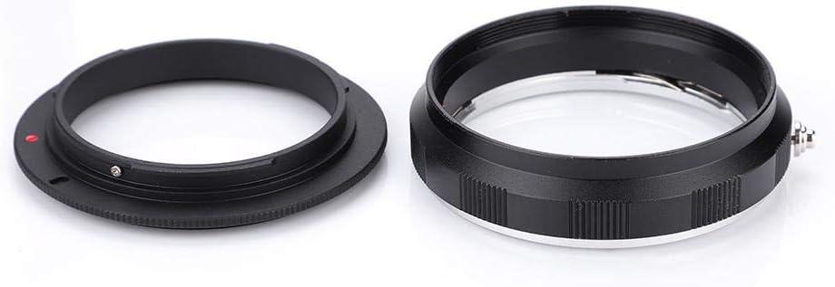 AI-52mm Lens Reverse Protection Ring Reverse Macro Adapter Rear Lens Filter Ring Camera Fitting for UV CPL Lens Cap