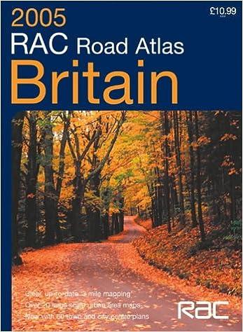 Rac Road Maps RAC Road Atlas Britain: 3 Mile: Royal Automobile Club