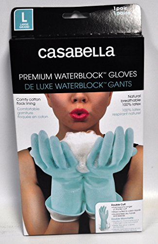 - Casabella Water Block Premium Gloves Large Blue