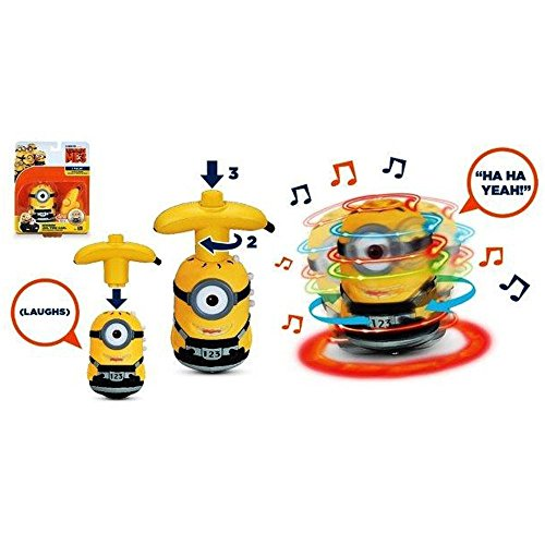 "Despicable Me3 - 4"" Spinning Minion (Stuart)"
