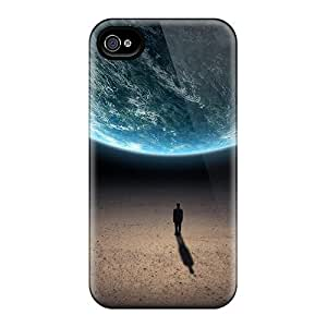 Perfect Fit NtJ7868jevB Outer Space Planets Earth Human Cases For Iphone 5C