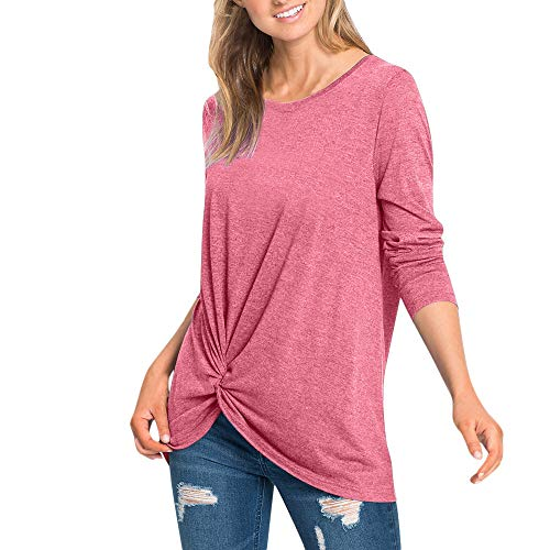 - Sunmoot Clearance Sale Summer Blouse for Womens Tunic Tops Spring Cold Shoulder Off Shoulder Cross V-Neck Short Long Sleeve 3/4 Sleeve Sleeveless Knot Front Casual Loose Cotton T-Shirt