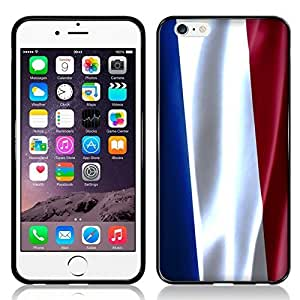 Case Fun Flag of France TPU Rubber Back Case Cover for Apple iPhone 6 (4.7 inch)