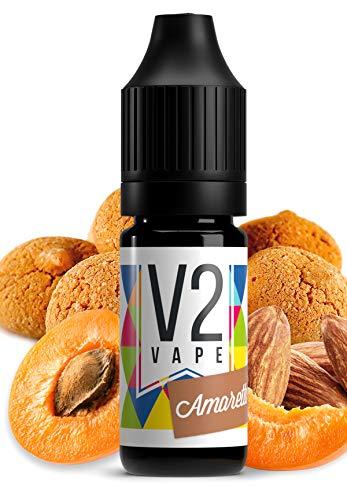 V2 Vape Amaretto AROMA / KONZENTRAT hochdosiertes Premium Lebensmittel-Aroma zum selber mischen von E-Liquid / Liquid…