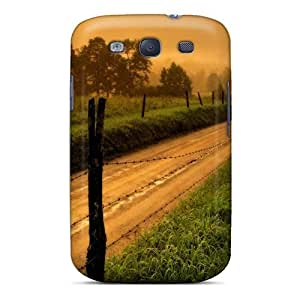 NikRun Galaxy S3 Well-designed Hard Case Cover Architecture Country Road Protector
