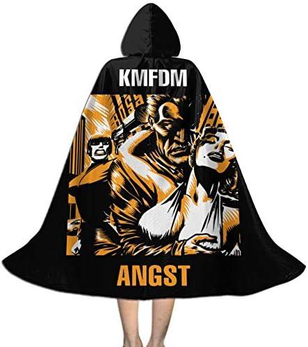 Disfraz de capa KMFDM de Halloween para ni ntilde;os se puede utilizar para fiestas carnaval fiestas de disfraces de Halloween