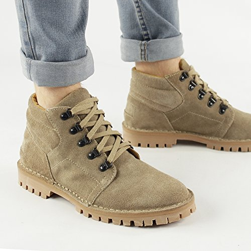 M496TS Mens Gringos Taupe Boots In Tan Desert 6UwdnqOwp