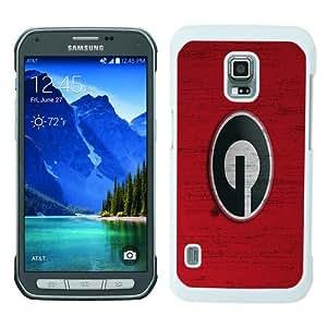 Georgia Bulldogs White Abstract Custom Design Samsung Galaxy S5 Active Protective Phone Case