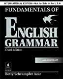 Fundamentals of English Grammar, Betty Schrampfer Azar, 013193306X
