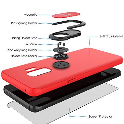 innovative design 32a8f 7ff8d Galaxy S9 PLUS, Punkcase Magnetix Protective TPU Cover W/Kickstand ...