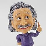 Einstein Bobblehead - Albert Einstein Sculpture,Bobble Head for Car Dashboard/Computor/Desk