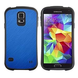 LASTONE PHONE CASE / Suave Silicona Caso Carcasa de Caucho Funda para Samsung Galaxy S5 SM-G900 / rain snow blue nature winter fall clean