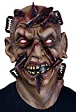 Forum Novelties Men's Close Shave Zombie Mask, Multi, One Size