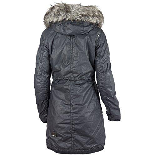 Khujo Abrigo de invierno para mujer Julita 1562CO163 Black 200