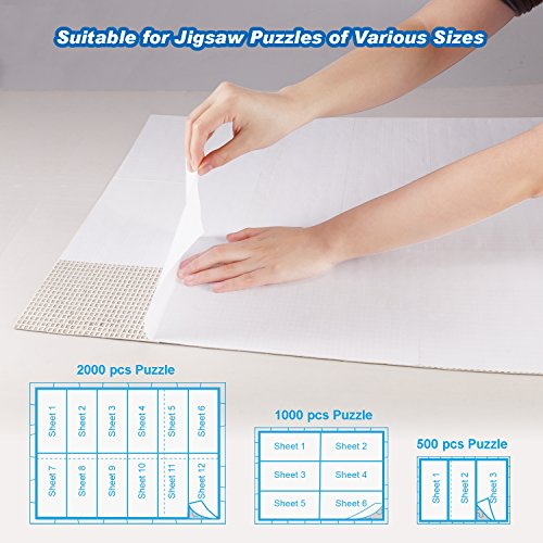 80%OFF Bable Puzzle Saver Peel & Stick 12 Sheets Adhesive
