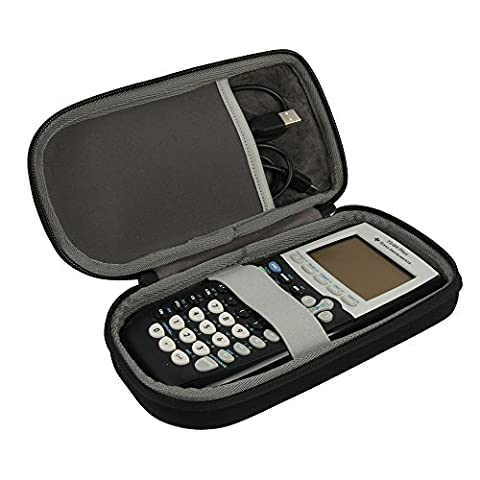 Travel Case for Texas Instruments TI-84 Plus CE Graphing Calculator by CO2CREA (Hard Case) (Ap Biology Barrons 5th)