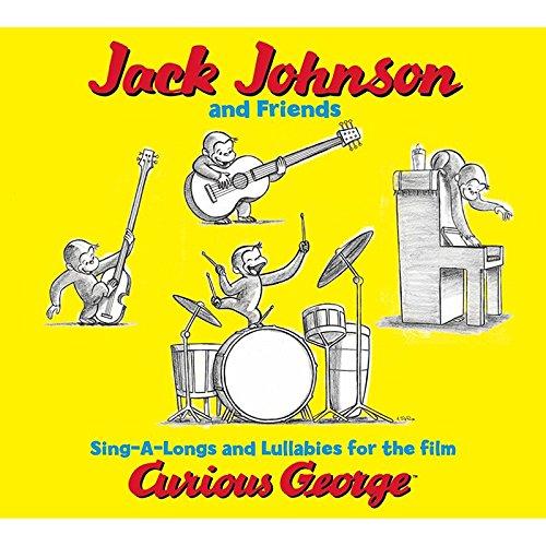 Price comparison product image FLIPSIDE JACK JOHNSON CURIOUS GEORGE (Set of 6)